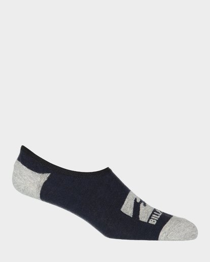 1 Invisible Socks 5 Pack Multicolor 9681602 Billabong