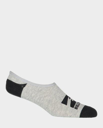 3 Invisible Socks 5 Pack Multicolor 9681602 Billabong