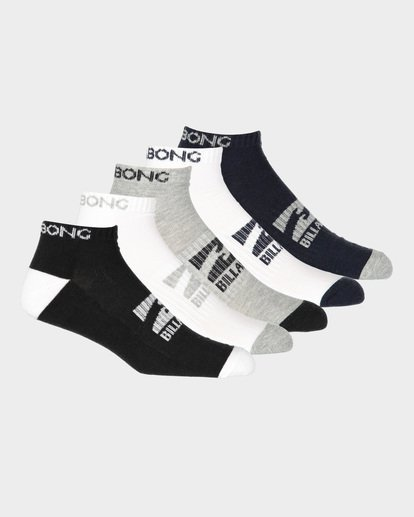 0 ANKLE SOCKS 5 PACK STANDARD  9681604 Billabong