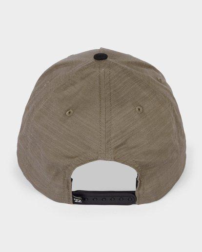 2 OXFORD SNAPBACK CAP Camo 9682309 Billabong