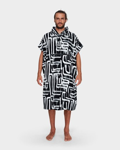 1 MENS HOODIE TOWEL Black 9682705 Billabong