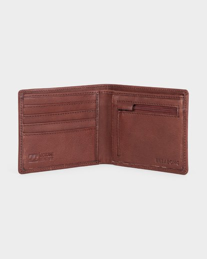 1 SCOPE 2 IN 1 WALLET Green 9685182 Billabong