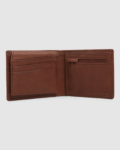 2 Helmsman Rfid Flip Wallet Green 9691184 Billabong