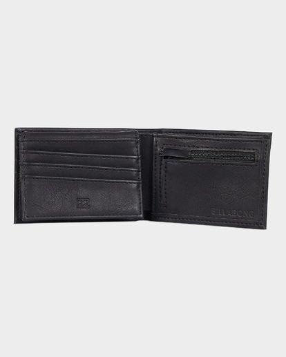2 Lineup Flip Wallet Black 9691185 Billabong