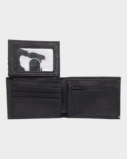 3 Lineup Flip Wallet Black 9691185 Billabong