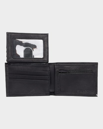 4 Lineup Flip Wallet Black 9691185 Billabong