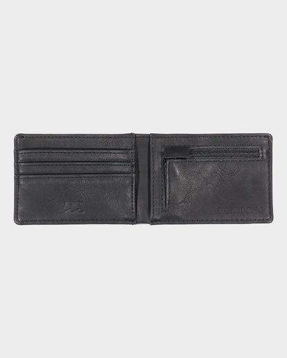 3 Revival Slim-Line Wallet Black 9691186 Billabong