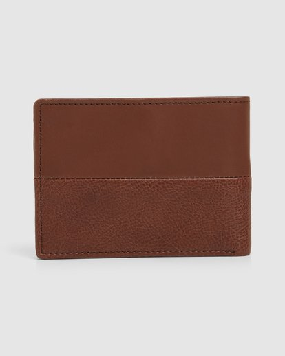 1 Downtown Rfid Slim-Line Wallet Green 9691188 Billabong