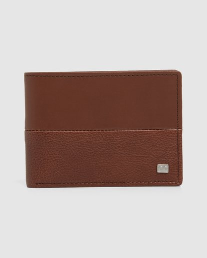 0 Downtown Rfid Slim-Line Wallet Green 9691188 Billabong