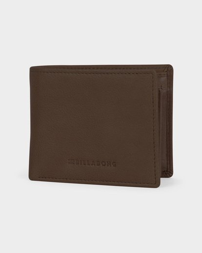 0 ROCKAWAY RFID 2 IN 1 WALLET Green 9691197 Billabong