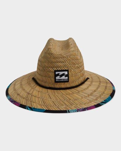 1 TIDES PRINT HAT Black 9691300 Billabong