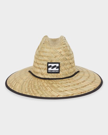2 TIDES PRINT STRAW HAT Blue 9691300 Billabong