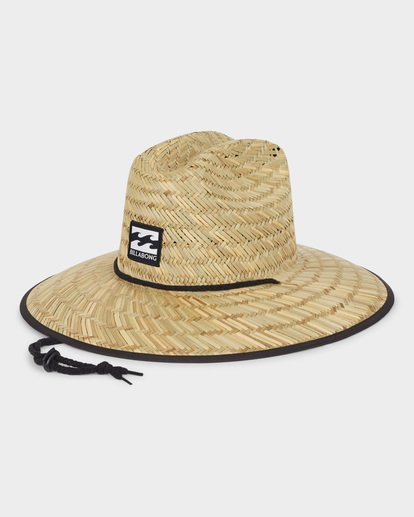 3 TIDES PRINT STRAW HAT Blue 9691300 Billabong