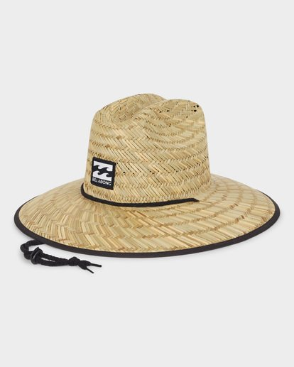 1 TIDES PRINT STRAW HAT Blue 9691300 Billabong