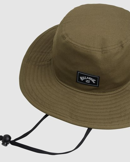 3 Big John Hat Green 9691302 Billabong