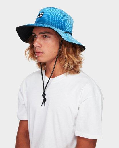 5 Division Reversible Hat Blue 9691304 Billabong