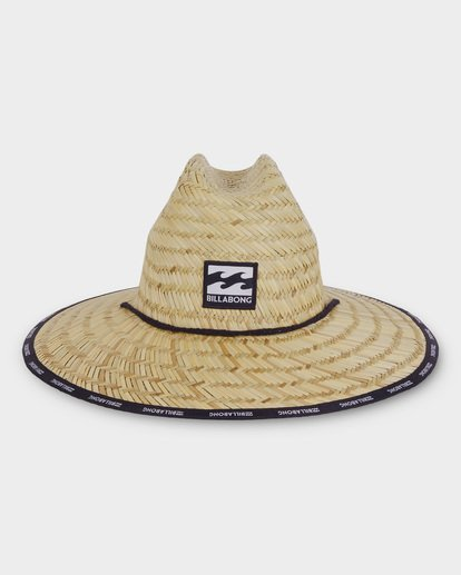 1 WAVES STRAW HAT Beige 9691309 Billabong