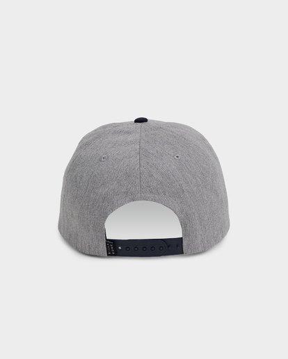 2 Stacked Snapback Grey 9691317 Billabong