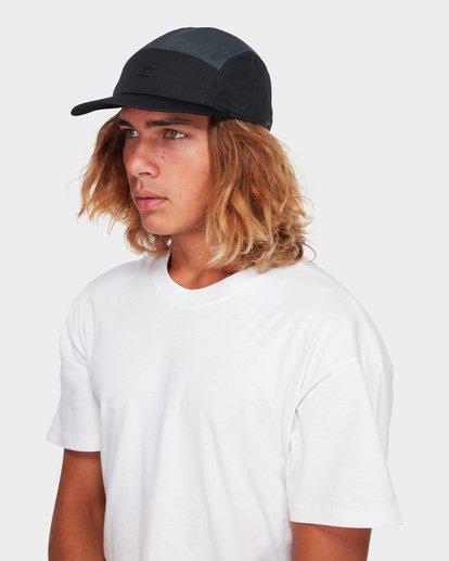 3 THE FED CAP Black 9691328 Billabong