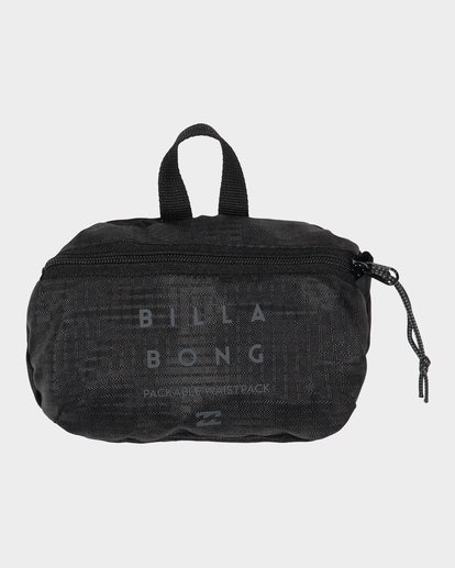 2 TRIPPER PACKABLE WAISTPACK Black 9691500 Billabong