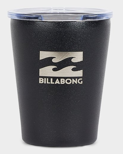 0 Venture Reusable Coffee Mug Black 9691506 Billabong