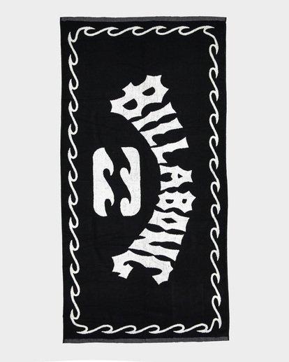 1 Arch Towel Black 9691700 Billabong
