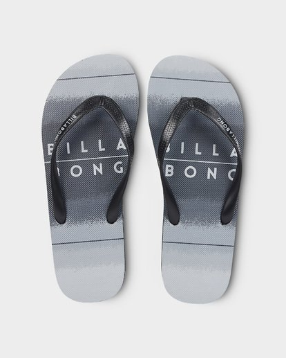 0 73 STRIPE THONGS Black 9691946 Billabong