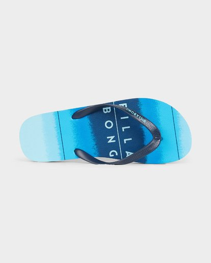 4 73 STRIPE THONGS Blue 9691946 Billabong