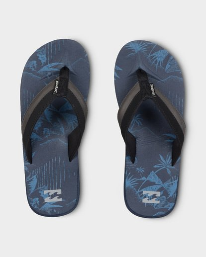 0 ALL DAY IMPACT PRINT THONGS Blue 9691949 Billabong