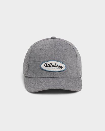 1 Walled Stretch Cap Grey 9692326 Billabong
