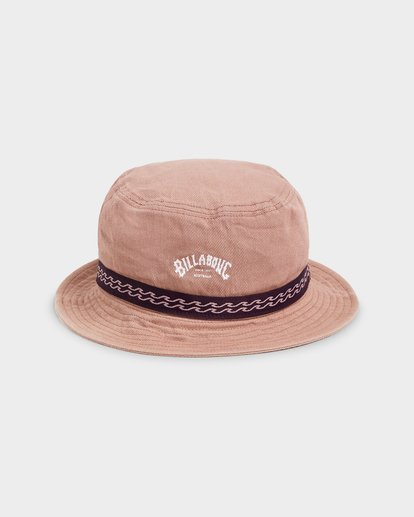 1 Re Issue Wave Washed Bucket Hat Pink 9692328 Billabong