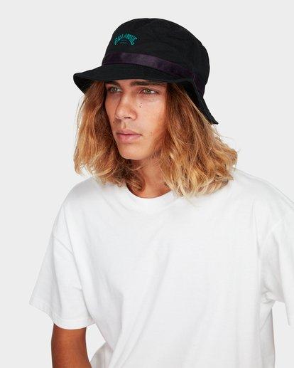 3 Re Issue Wave Washed Bucket Hat Black 9692328 Billabong