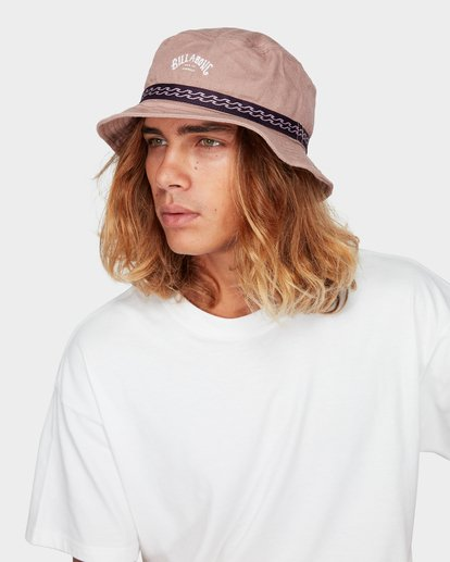 3 Re Issue Wave Washed Bucket Hat Pink 9692328 Billabong
