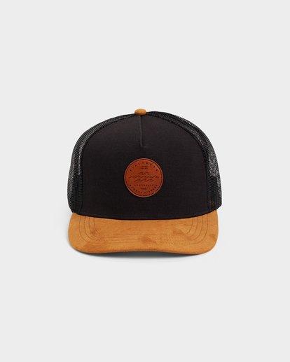 1 MIXED STACKED TRUCKER CAP Black 9692330 Billabong