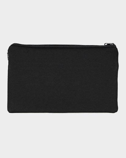 1 Jumbo Pencil Case Black 9692501 Billabong
