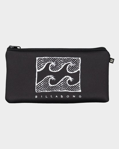 0 Small Pencil Case Black 9692505 Billabong