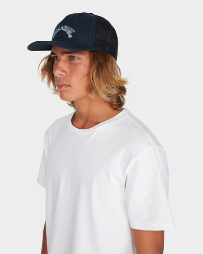 3 BREAKDOWN TRUCKER CAP Purple 9695308 Billabong