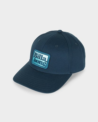 0 WALLED SNAPBACK CAP Blue 9695310 Billabong
