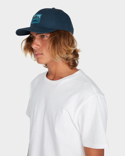 3 WALLED SNAPBACK CAP Blue 9695310 Billabong