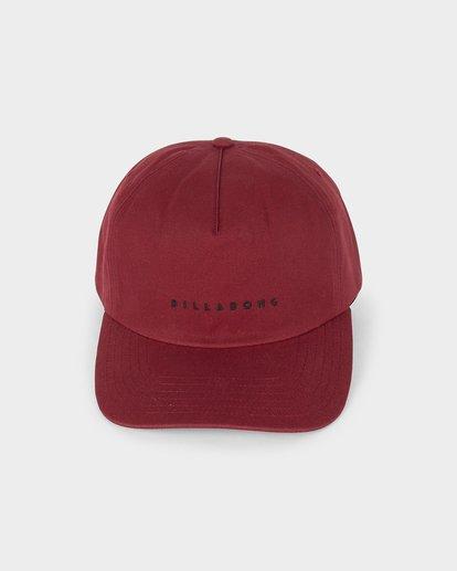 1 BALLAST SNAPBACK Red 9695322 Billabong