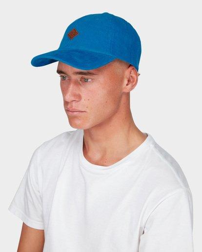 3 SPICES CORD LAD CAP Blue 9695325 Billabong