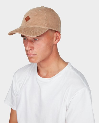 3 SPICES CORD LAD CAP Green 9695325 Billabong