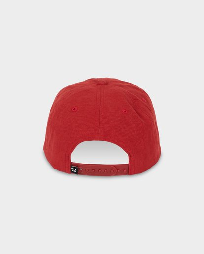 2 PIERMONT SNAPBACK CAP Red 9695326 Billabong