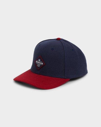 0 Mixed Snapback Cap Blue 9695342 Billabong