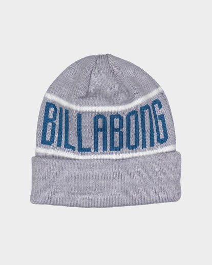 1 DEFENDER BEANIE Grey 9695352 Billabong