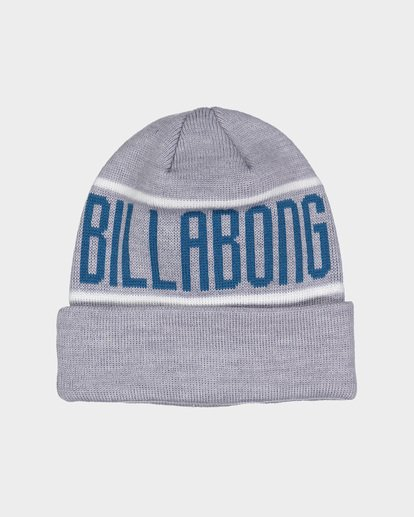 0 DEFENDER BEANIE Grey 9695352 Billabong