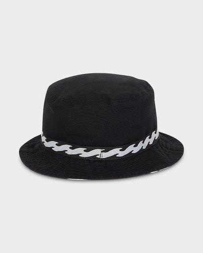 2 VIBES REVO BUCKET HAT Black 9695355M Billabong