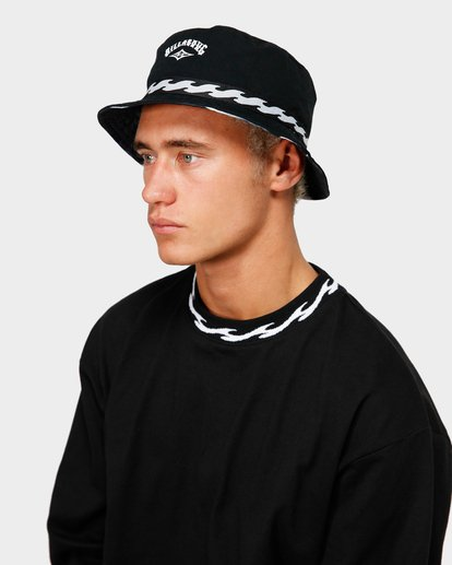 3 VIBES REVO BUCKET HAT Black 9695355M Billabong