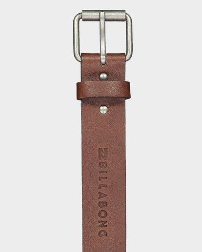 1 Stringer Leather Belt Green 9695650 Billabong
