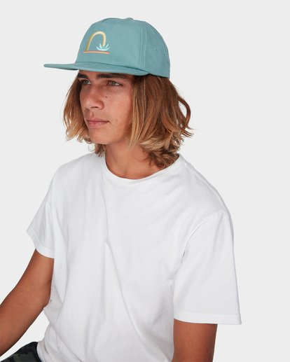 3 HEAD DOWN SNAPBACK Green 9696306 Billabong
